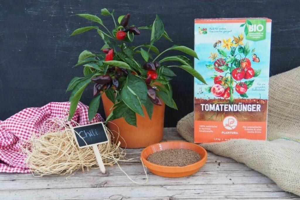 Plantura Bio-Tomatendünger für Chili