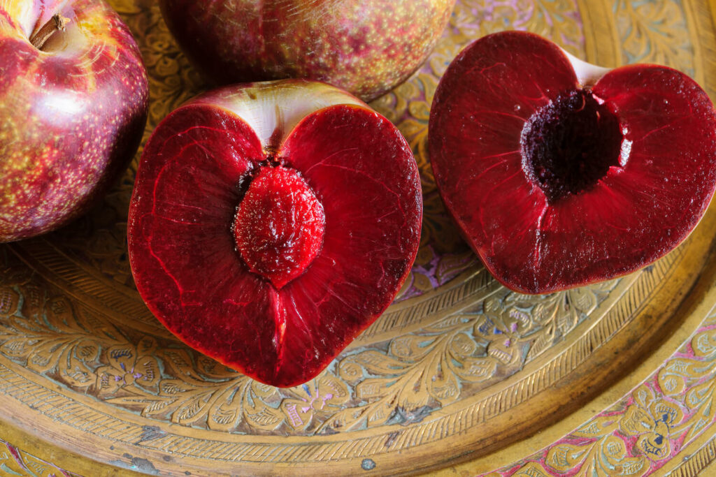 rotfleischiges Obst