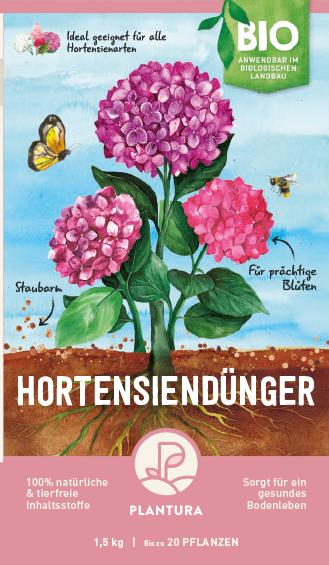 Plantura Bio-Hortensiendünger
