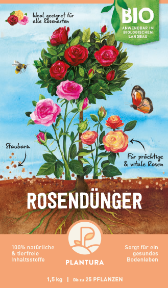 Plantura Bio-Rosendünger