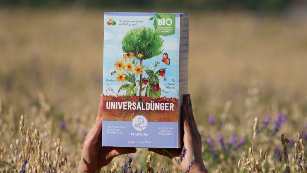 Unser Plantura Bio-Universaldünger mit Langzeitwirkung