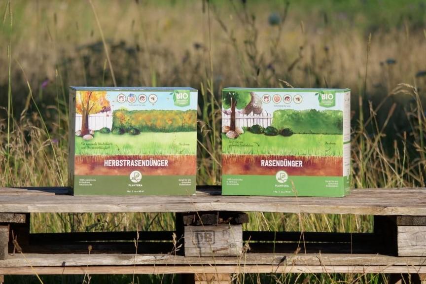 Plantura Rasendünger und Herbstrasendünger