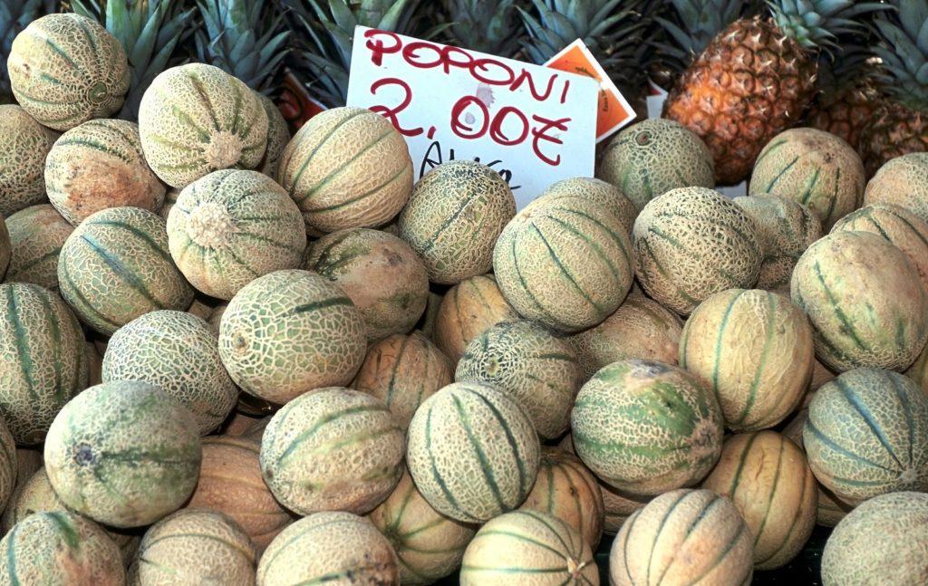 Cantaloupe-Melone in Italien