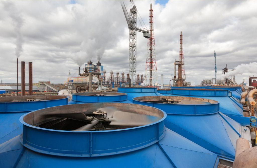 Chemiefabrik zur Herstellung von Stickstoff