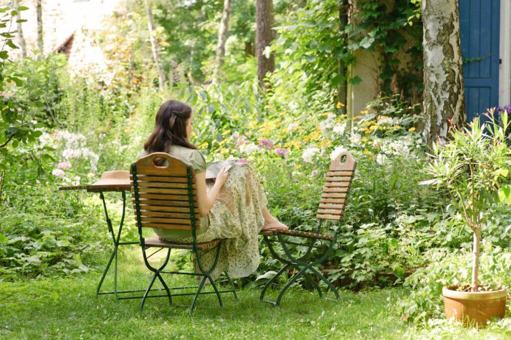 Urlaub im Garten als Gartentrend 2021
