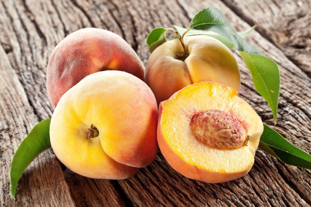 Gelbfleischige Pfirsiche