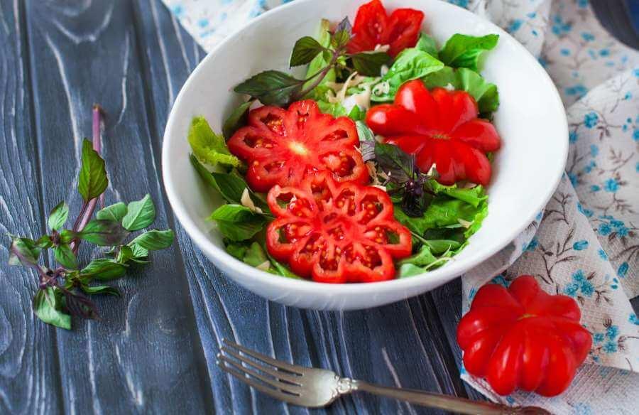 Tomate Sorte Costoluto Genovese