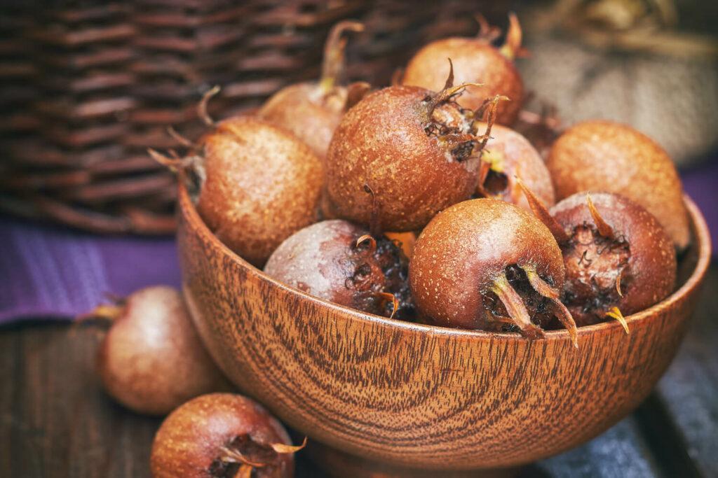 Mispel Früchte