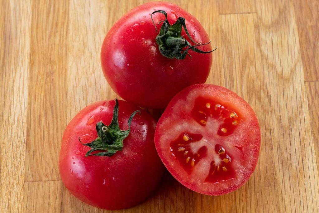 Tomaten der Sorte Hoffmans Regina