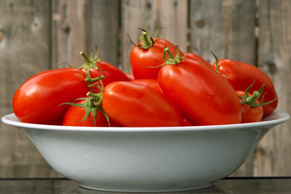 Tomaten der Sorte Rote Zora