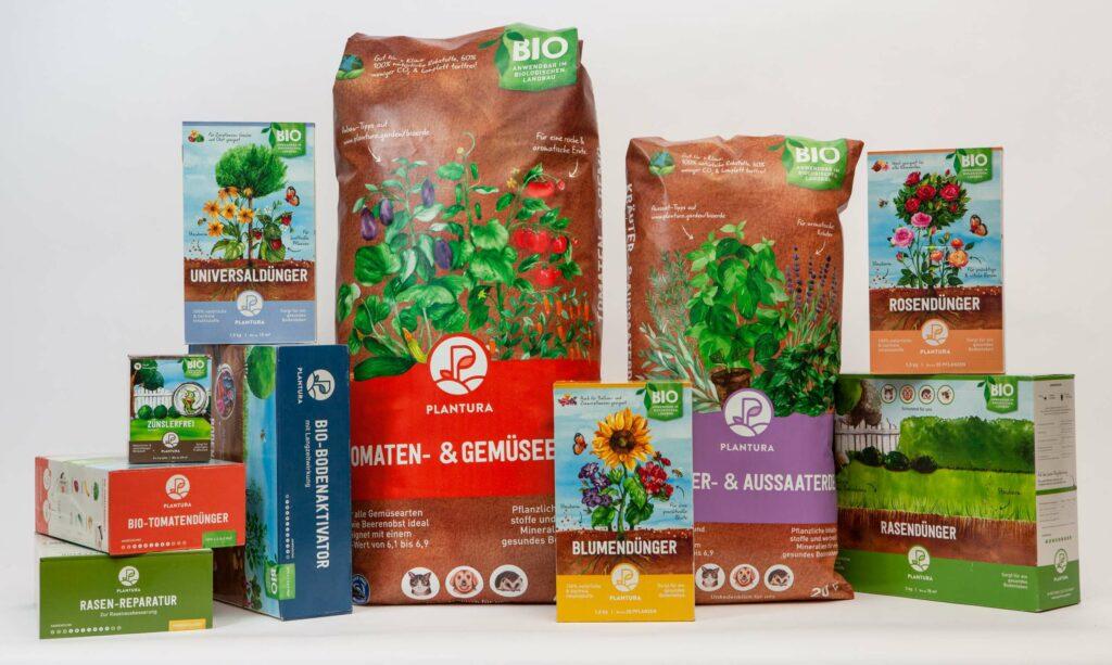 Plantura Produktsortiment