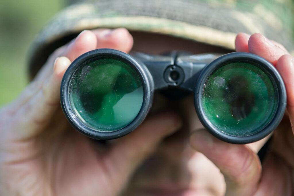 Fernglas zur Vogelbeobachtung