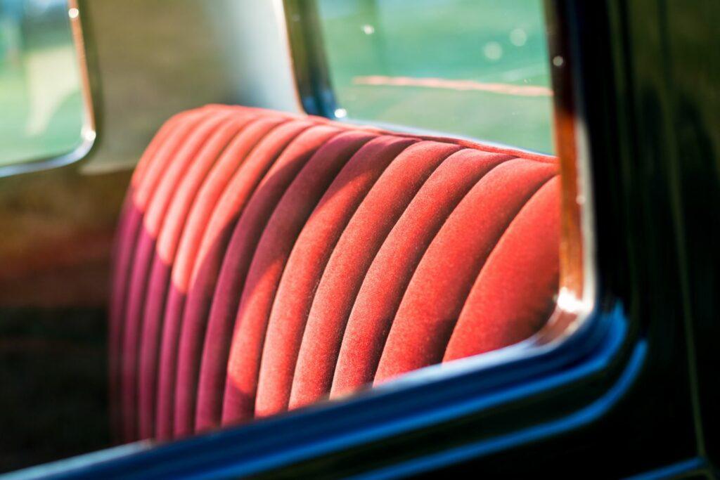 Polster eines alten Autos