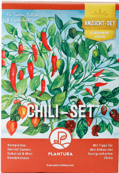 Plantura Chili-Anzuchtset