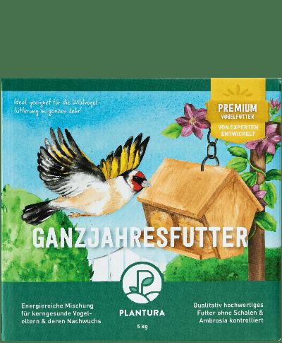 Plantura Ganzjahresfutter für Wildvögel