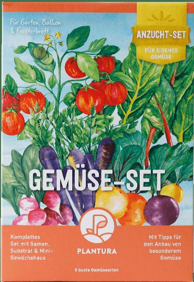 Plantura Gemüse-Anzuchtset