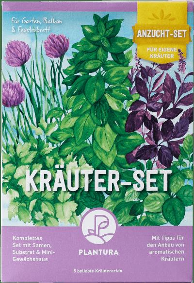 Plantura Kräuter-Anzuchtset
