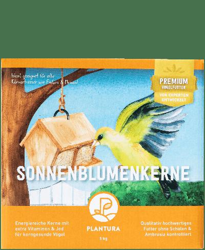 Plantura Sonnenblumenkerne für Wildvögel