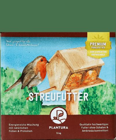 Plantura Streufutter für Wildvögel