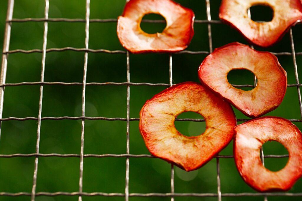 zubereiteter Redlove-Apfel