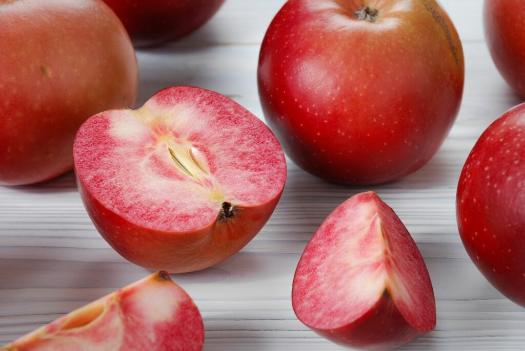 reife, rote Äpfel