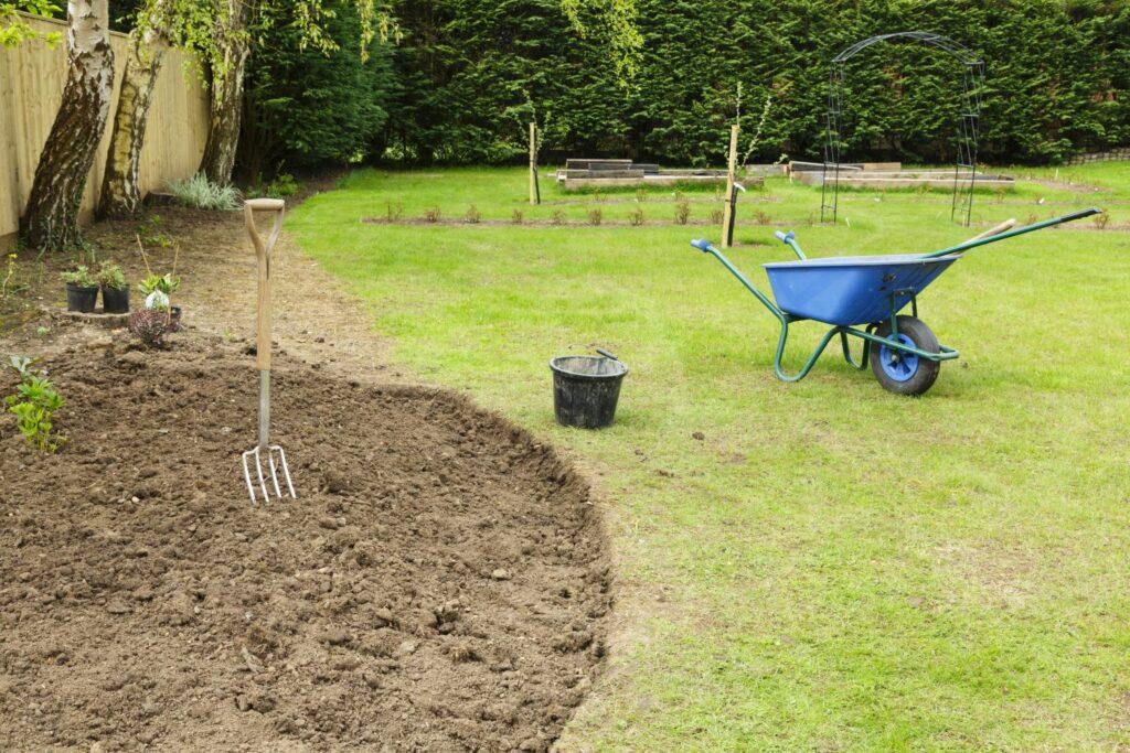 Vorbereitungen für den Blackbox Garden