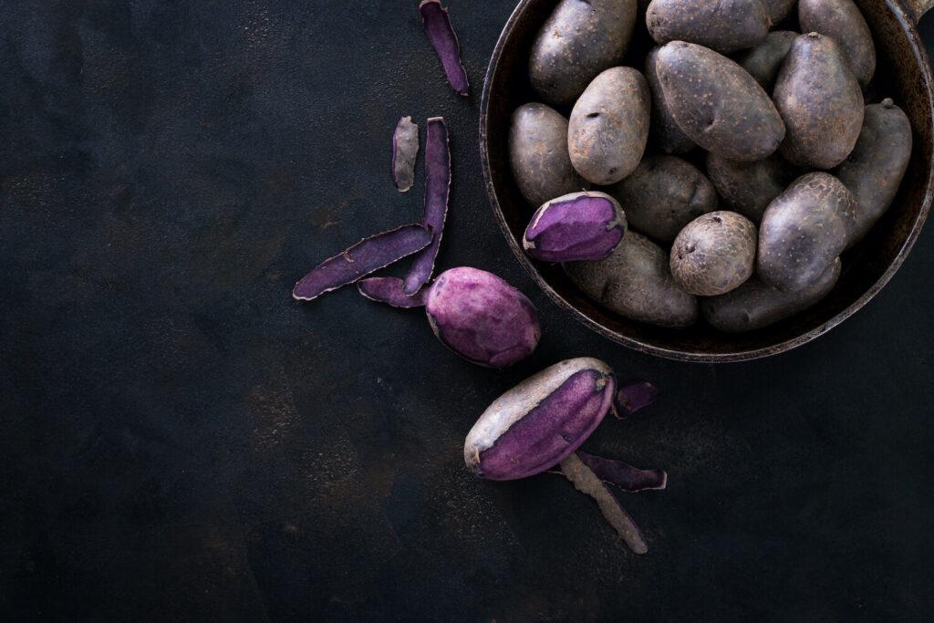 Blauer Schwede-Kartoffel