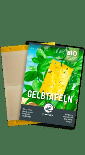 Plantura Gelbtafeln