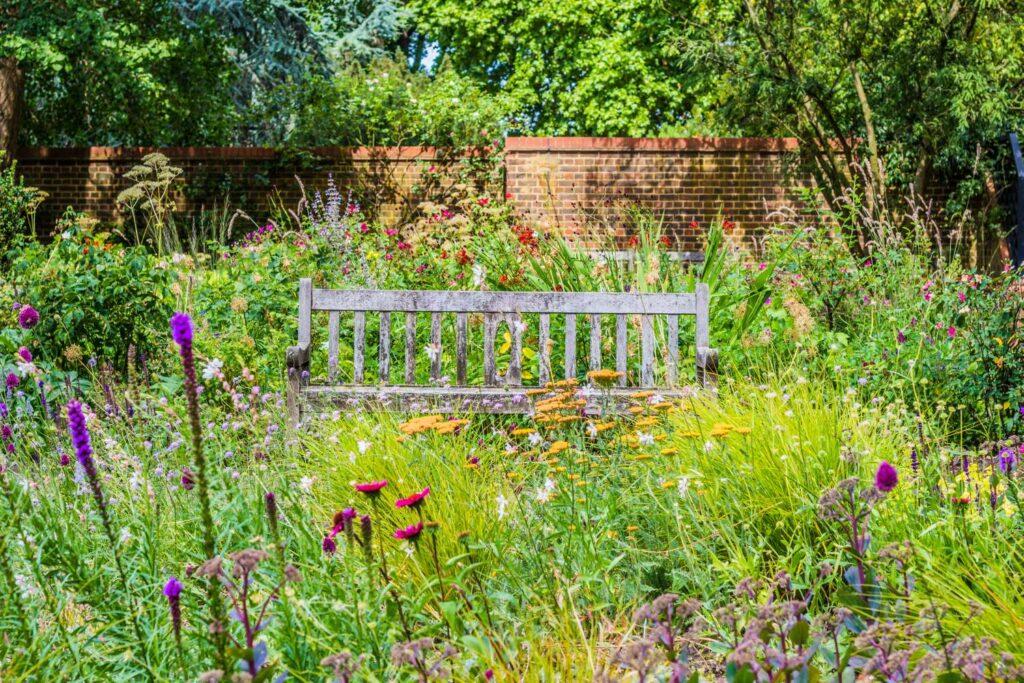 Bunter Blackbox-Garden
