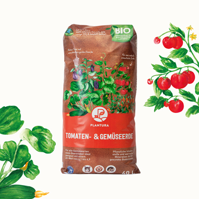 Bio-Gemüseerde von Plantura