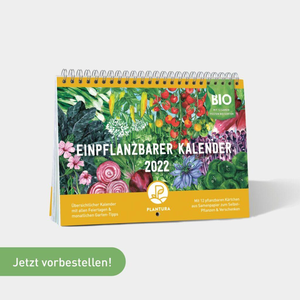 Einpflanzbarer Kalender 2022